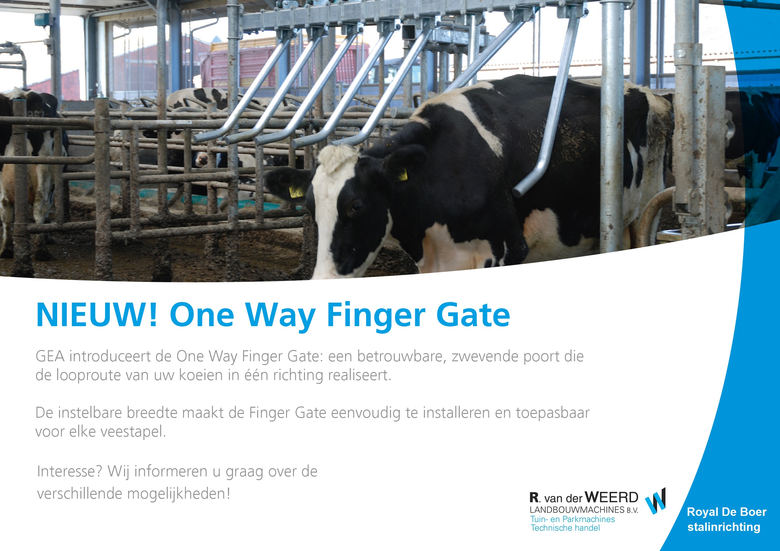 One Way Finger Gate