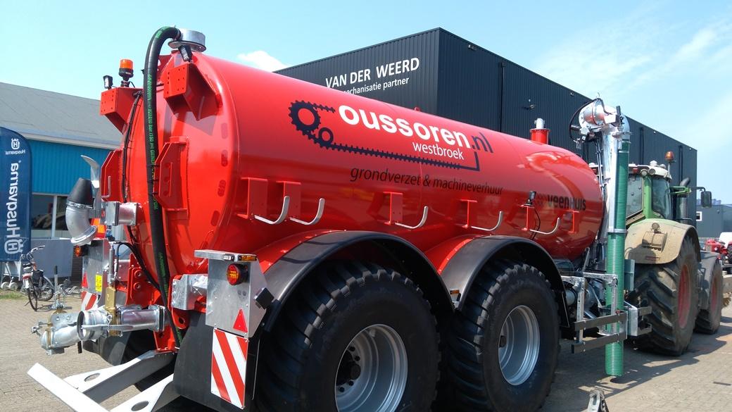 Veenhuis waterwagen 17000ltr Oussoren