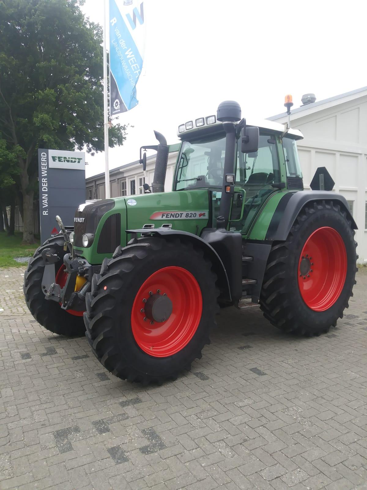 Fendt 820 Vario - Roos agri